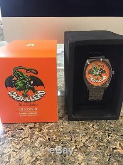 Bones Brigade Nixon Steve Caballero Watch Limited Edition Collectors