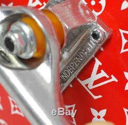 Brand New Louis Vuitton Supreme Boite Skateboard Trunk Fw17 Kim Jones