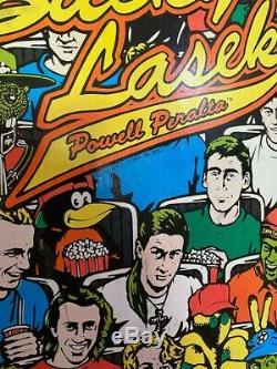Bucky Lasek ORIGINAL 1990 Skateboard Deck RARE! Vintage Powell Peralta Cliver