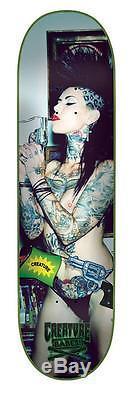 CREATURE Skateboard Deck 8.8 Babes Calendar Girl Malice McMunn Ltd Edition