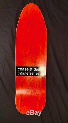 Cease And Desist Ron Chatman World Industries Deck