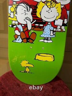 Cease & Desist Skateboard Deck Sean Cliver 101 Adam Mcnatt Charlie Manson Rare