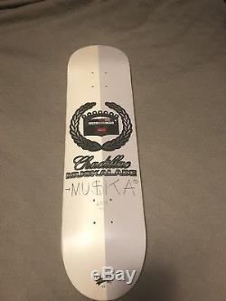Chad Muska Shorty's Chadillac Muskalade Skateboard Autographed