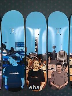 Chocolate Skateboards 2014 City Series 20 Year Anniversary Set Brand New