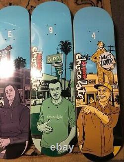 Chocolate Skateboards 2014 City Series Girl Evan Hecox 101 World Blind Menace FA