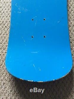 Chris Miller NOS Lizard Face Skateboard Deck