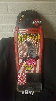 Christian Hosoi Mini Street Skateboard Deck 80s