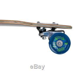 Complete Skateboard Longboard Professional Fractal Cruiser Drop Deck