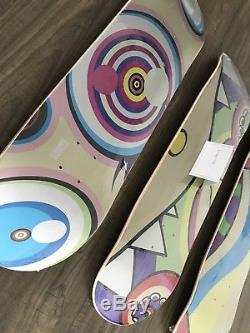 Complexcon 2017 Takashi Murakami Skateboard Deck Set Dobtopus