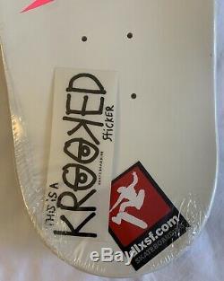 DeadStock Mark Gonzales Retro Vision Krooked Skateboard Deck. Supreme