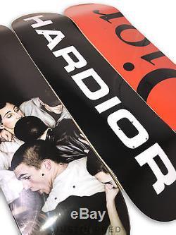 Dior Skateboard Skate Deck Set of 3 with Hardior, Mosh Pits, & Dior