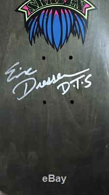 Dogtown Eric Dressen mint signed NOS Skateboard vintage