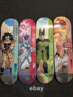 Dragon Ball Z X Primitive Skateboards Licensed Original 12 Decks Brand New