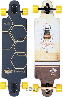Dusters Lite Honeycomb Longboard Complete Sz 36 x 9.5in