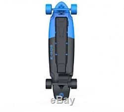 Electric Skateboard, Longboard Kicktail Deck Speed Control Brake Royal Blue New