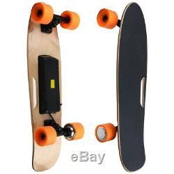 Electric Skateboard Wireless Remote Control Longboard Skate Complete Deck AK