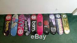 Element Bam Margera Collection 10 Skateboard decks 2017