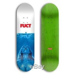 FUCT Jawz Skateboard Skate Deck Size 8.25 Supreme