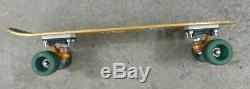 G&S FIBREFLEX VINTAGE SKATEBOARD DECK With 65mm KRYPTONICS WHEELS & ACS 500 TRUCKS