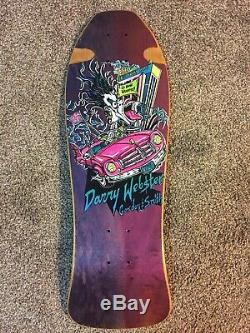 G&S Gordon Smith Danny Webster Skateboard Deck NOS Purple Fade Vintage Old