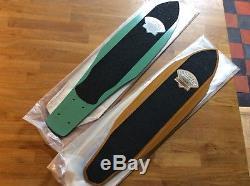 G&S Slalom Cutaway Model Vintage Skateboard 70s NOS Fibreflex Original Sleeve
