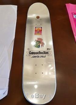 Garbage Pail Kids Prismatic Puke Skateboard Super Duper Rare Santa Cruz + BONUS
