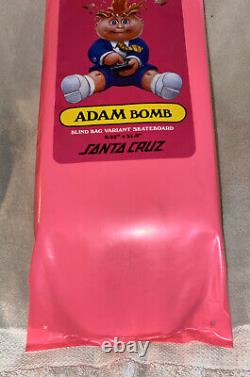 Garbage pail kids santa cruz skateboard deck mars attacks sealed blind bag 80's