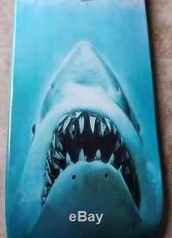 Girl Skateboards Guy Mariano Shark Attack Skateboard Deck Jaws Movie Poster NOS