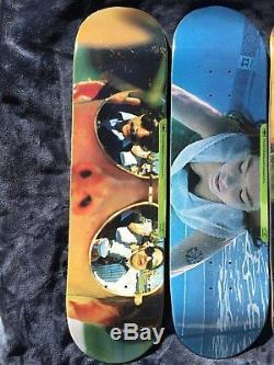 Girl Skateboards x Spike Jonze full series 5 deck lot Nirvana, Beastie Boys