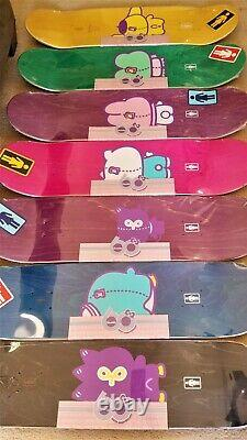 Girl x Sanrio 60th Anniversary Hello Kitty COMPLETE SET OF 7 Skateboard Decks