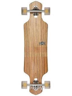 Globe Geminon Complete Skateboard Zebrawood Chocolate 35