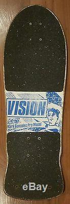 Gonz mark gonzales vision skateboard deck vision og used