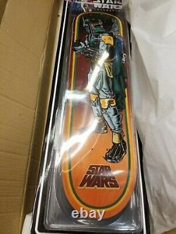HARD TO FIND Santa Cruz Star Wars Skateboard Set (All 4) SPECIAL EDITION DECKS