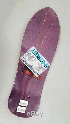 H-STREET Matt Hensley mini skateboard deck reissue screenprinted 9.5 inch laser