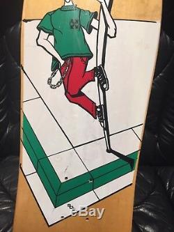 H-Street Matt Hensley Street Swinger ORIGINAL NOS mini deck with tape strips