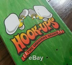 Hook-Ups Alice & Friends Skateboard Deck 8.25 NOS Alison Wonderland Sean Cliver