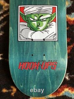 Hook-Ups Dragonball Z Skateboard Deck Jeremy Klein Silk Screened New