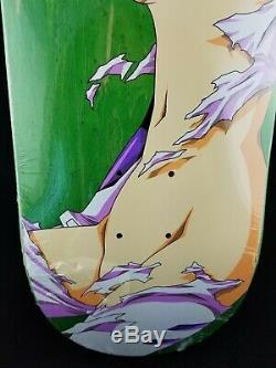 Hook-Ups Evangelion Rei Ayanami Deck Purple/Green Skateboard JK Industries Rare