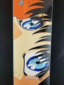 Hook-Ups Eyes Skateboard Deck 8.0 Jk Industries Jeremy Klein Sold Out Sealed new