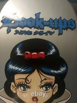 Hook-Ups Paper Doll Snow White Skateboard Deck Sean Cliver hookups hook ups NOS