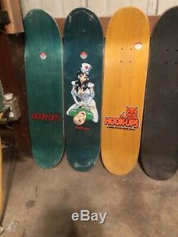 Hook Ups Skateboard Deck Collection Rare Original