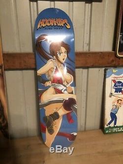 Hook Ups Skateboard Deck Rare
