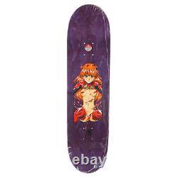 Hook-Ups Skateboards JK Industries 8.25 x 32.25 Asuka Green/Purple Stain Deck