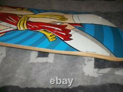 Hookups One Owner NOS Geisha Girl Skateboard Deck With Shop Price Tag Hook Ups