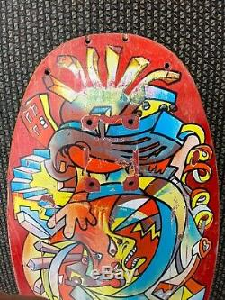 Hosoi Picasso vintage skateboard deck 1987 Santa Cruz