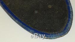 JAY ADAMS Z-FLEX SKATEBOARD DECK VINTAGE 1970s OLD-SCHOOL BLUE FIBERGLASS