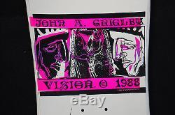 JOHN GRIGLEY III 1988 VISIONS Original Vintage SKATEBOARD DECK Unused NOS
