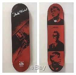 Jason Dill X Andy Warhol X Alien Workshop Skateboard 2010- Koons Hirst FA HOCKEY