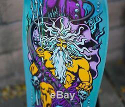 Jason Jessee Neptune 30 Yr Annv BATS Prism Reissue Deck NEW Rad Skateboard