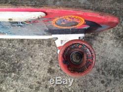 Jason Jessee Vintage Original Issue Skate Deck Slime Balls